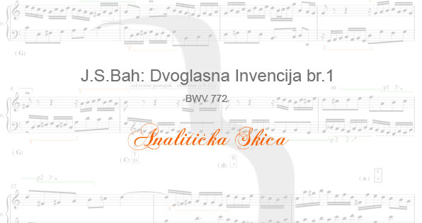 BWV772 analiticka skica