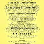 Hummel teorijska studija sviranja klavira